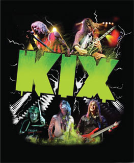 Kix Screen Print